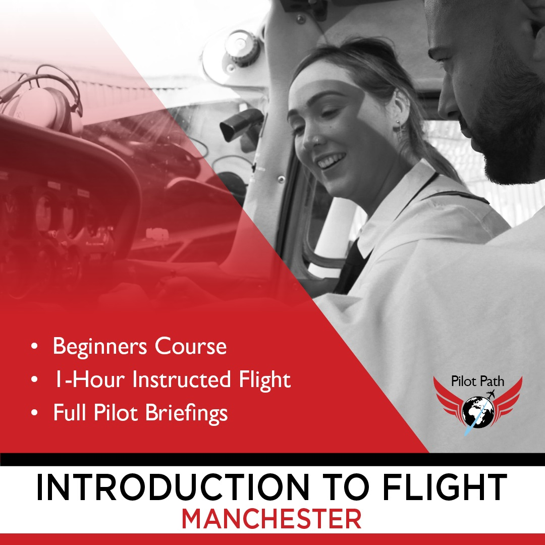 woman learning to be a pilot